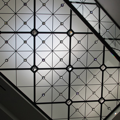Caprice - contemprorary leaded glass skylight