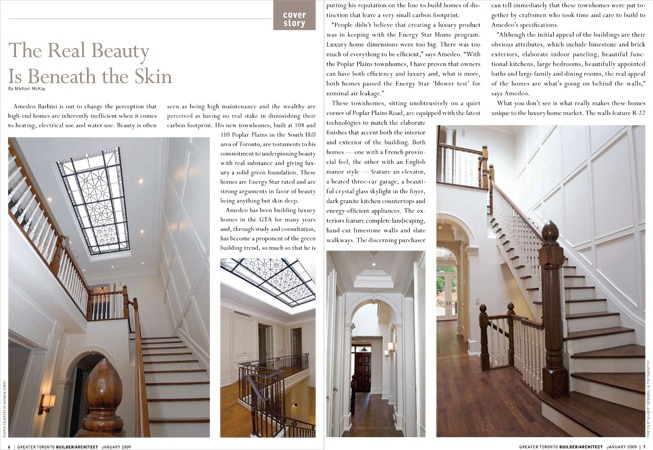 Skylight by Artistic Line Studio has been featured in Builder/Architect magazine in a cover story The Real Beauty is Beneath the Skin by Michael McKay