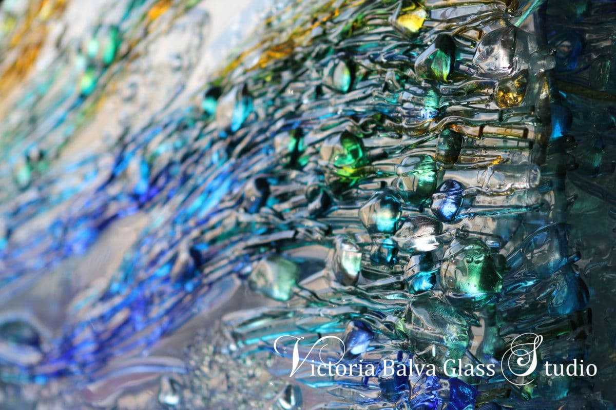 contemporary-abstract-kiln-formed-fused-art-glass-sculpture